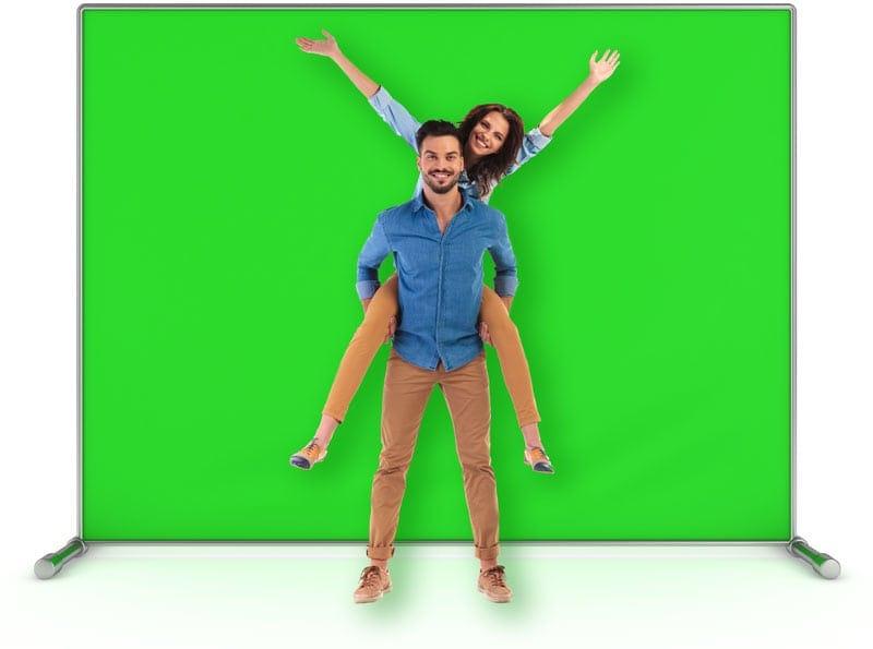 Green Screen - מסך ירוק 1